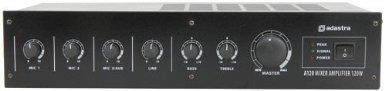 TC359 - ADASTRA 4 Kanal MIXER Verstärker 100 V Linie OR 8 Ohm (8 Kanal Power Mixer)