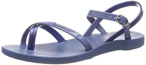 Ipanema Damen Fashion Sand VII FEM Slingback Sandalen, Blau Blue 8330, 37 EU