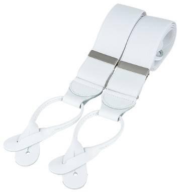 Bianco Classico pelle laminato Fine Brace di David Van Hagen