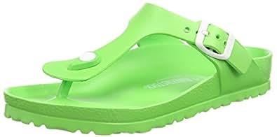 Birkenstock Gizeh EVA, Women's Flip Flop, Green (Neon Green), 3.5 UK (36 EU)