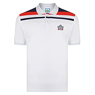 Official Retro Admiral 1982 White England Club Polo