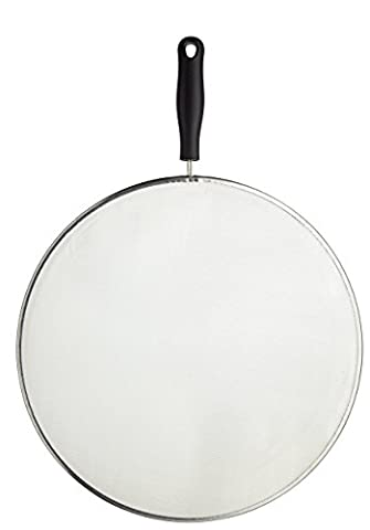 KitchenCraft Extra-Large Frying Pan Splash Guard / Splatter Screen, 32