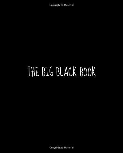 The Big Black Book: Journal - Big Black Book