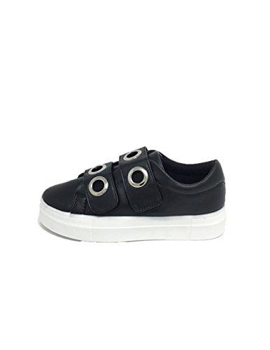 Sneakers da Donna con Occhielli Nero