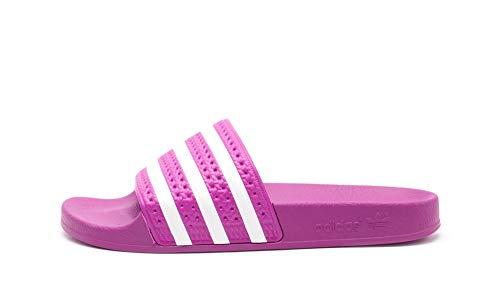 adidas Damen Adilette W Dusch- & Badeschuhe Vivid Pink/FTWR White, 42 EU