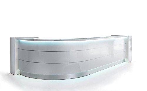 Empfangstheke TRESSA mit LED Beleuchtung, Rezeption in verschiedenen Farben erhältlich,...