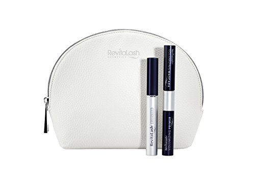 RevitaLash Advanced Wimpernserum 2ml Set New Bloom - Wimpern-Conditioner (2ml), Double-Ended Volumizing Primer & Mascara (je 3ml)