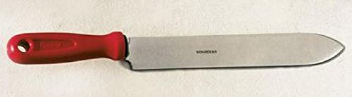 Lega Entdeckel Knife, Flat, with double sided Straight Cut, Stainless Steel 23cm long 1