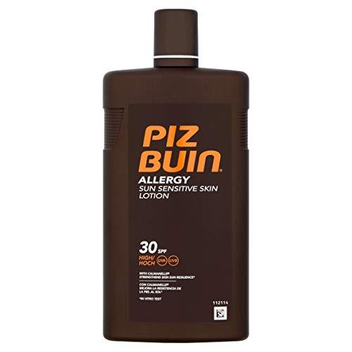 Piz Buin - Protección Solar, Loción allergy SPF 30 - Protección alta Bote 400 ml