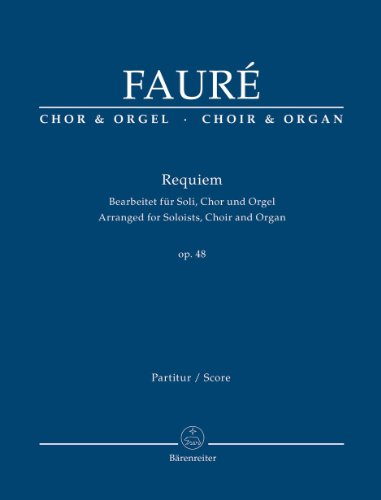 Requiem d-Moll op.48, Bearbeitet für So...