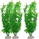 3wunderschöne Kunststoff Aquarium Anlage Set von sungrow: leuchtenden grün: natürliches