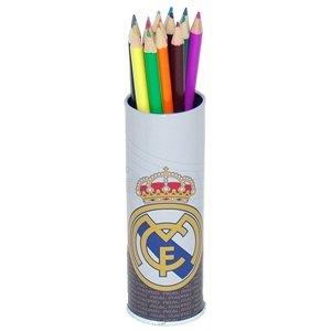 Offizielle REAL MADRID 15 Stück Buntstifte in Zinnfall