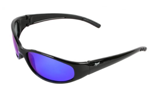 Rapid Eyewear Blau Verspiegelt SCHWIMMENDE Sonnenbrille Polarisierte Wassersportbrille und Anglerbrille. Für Damen und Herren. UV400 Schutz. Verwenden Sie zum Segeln, Rudern, Kajak, Kitesurfen etc