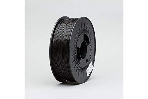 Digitalrise® PETG ø1.75mm (2.5kg Füllmenge) - 3D Drucker Filament, Farbe: SCHWARZ (RAL9017) - Made in Austria - Beste Qualität zum Superpreis!