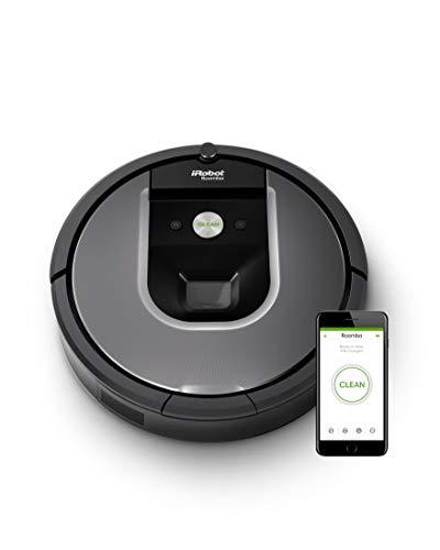 iRobot 900 Series Roomba 960 Vacuum Cleaning Robot (Grey)