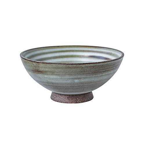 RKY Bol- Cuvette de cuisine en céramique japonaise japonaise faite main en porcelaine japonaise /-/ (Couleur : B)