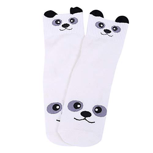 Die zufälligen Socken der Yajii-Frauen Netter Spaß-verrückte Tierkatzen-Hundebärn-Kunst-Muster gut für Geschenk