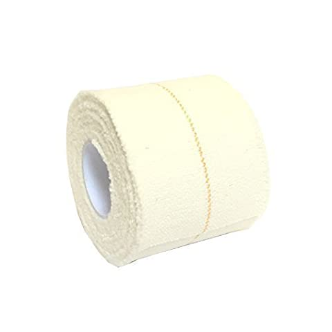 1 ROLL OF 5CM x 4.5M QUALICARE PRO EAB ELASTIC ADHESIVE BANDAGE ATHLETIC SPORTS RUGBY LIFTING FOOTBALL KNEE ELBOW ANKLE JOINT SUPPORT TAPE STRAPING