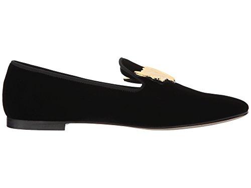 giuseppe-zanotti-design-womens-i66066001-black-suede-loafers