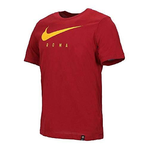 Nike Herren Roma M Nk Dry Tee Tr Ground Hemd, Team Crimson, M -
