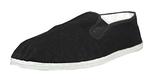 Tai Chi / Kung Fu Schuhe / Slipper mit Stoffsohle Gr. 43
