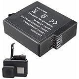 SLB Works Brand New New AHDBT501 Rechargeable 3.85V 1220mAh Li-ion Battery For Gopro Hero 5 Black