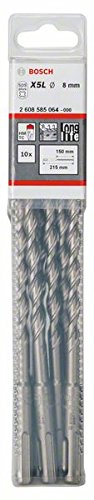BOSCH 2 608 585 064  - BROCAS PARA MARTILLOS PERFORADORES SDS-PLUS-7 - 8 X 150 X 215 MM (PACK DE 10)