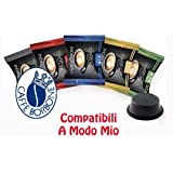 4x50 capsule Borbone Don Carlo DEGUSTAZIONE 50 NERA, 50 BLU, 50 RED, 50 ORO compatibili a modo mio