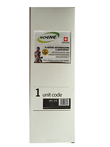 NOENE 5-PackAntistatische NOENE® PSA Arbeitsschutz-Einlegesohlen Größe 41-48