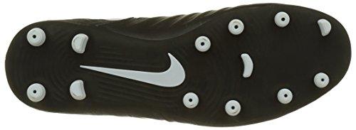 Nike Herren Tiempo Rio IV (FG) Fußballschuhe Schwarz (Black/white Black 002)