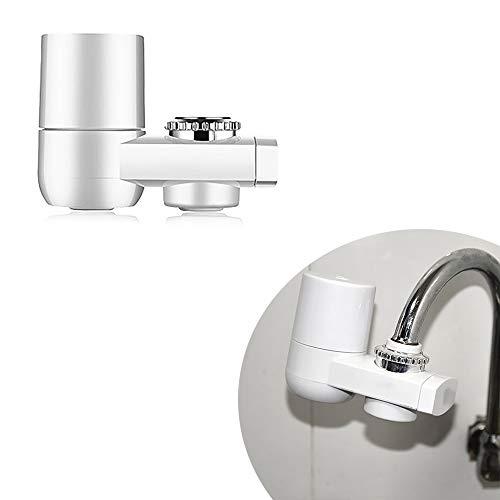 OurLeeme Leitungswasserfilter, Wasserhahn Wasserfilter Wasserfilter System Langlebige Wasserfilter Filter Für Küche (Weiß) -