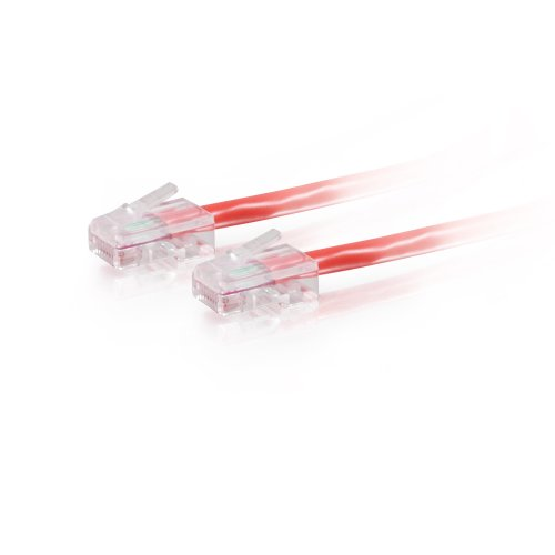CABLESTOGO Cables to Go 83333 Category 5E Crossover Patch Kabel (350MHz, 1,5m) rot - 350-mhz-cat5e-crossover