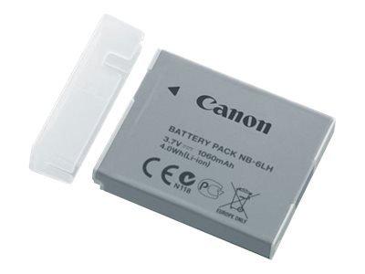 Preisvergleich Produktbild Canon NB 6LH - Kamerabatterie Li-Ion 1060 mAh - für IXY 32 PowerShot D30, S120, S200, SX170, SX260, SX280, SX500, SX510, SX520, SX600, SX700 CANON Akku NB-6LH Li-Ion fürIXUS 85IS/95IS, PS S90,PS S95 IXUS 200IS, IXUS 300HS