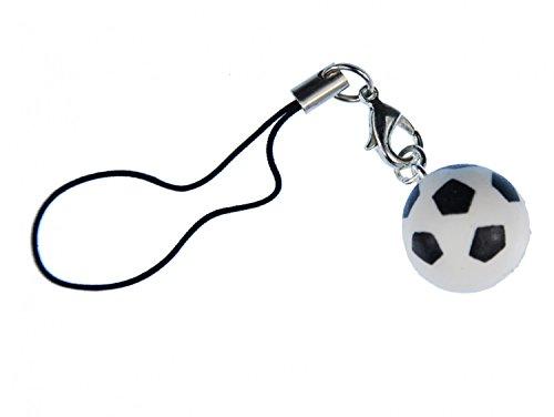 Calcio sfera cellulare ciondolo Miniblings custodia gioielli WM Calcio 3d sfera bianco EM
