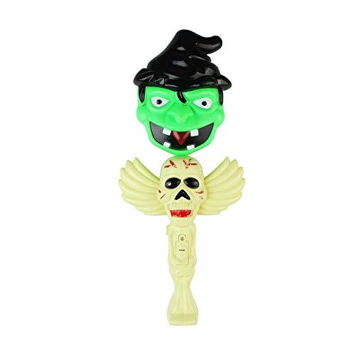 Beito Halloween Zauberstab Glow-in dunkelen Geistern Schreien Horror Glow Sticks für Halloween-Kinder-Spielzeug-Partei-Dekor-Zombie