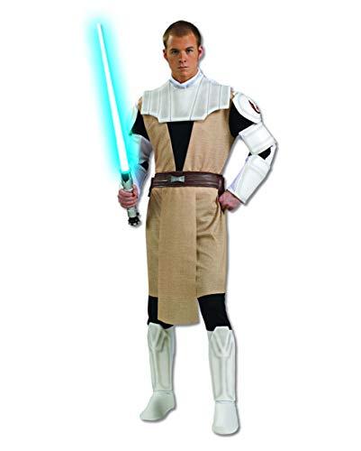 Horror-Shop Star Wars Obi-Wan Kenobi Kostüm für Fasching & Halloween Standard (Clone Wars Halloween Kostüme)