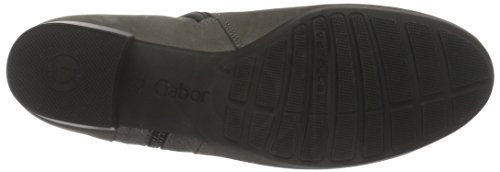 Gabor Comfort Sport, Bottes Chelsea Femme Gris (Anthrazit Micro)