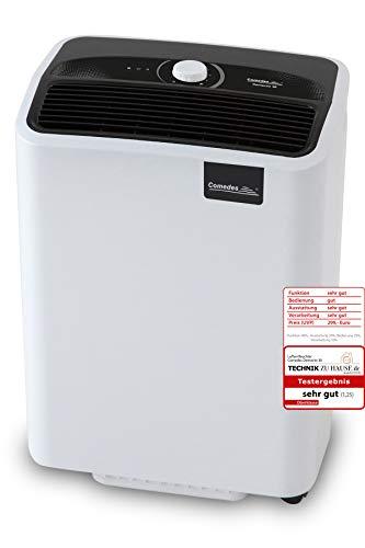 Comedes Demecto 30 - Effektiver Luftentfeuchter für große Bäder, Wohn- und Kellerräume bis 230m³, bis zu 33 l/Tag