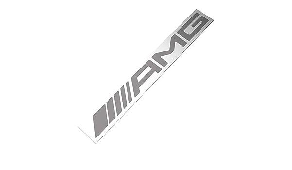 Demupai Windschutzscheibe Banner Aufkleber Vinyl Aufkleber Für Amg Silver Letter Baumarkt