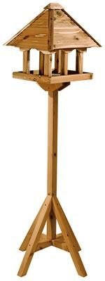 Gardman Self Assembly Cedar Wood Pagoda Bird Table from Gardman