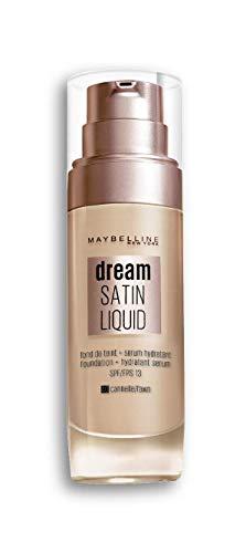 Maybelline New York - Fond de Teint Fluide Perfecteur de Teint - FPS13 - Dream Satin Liquid - Cannelle (40) - 30 ml