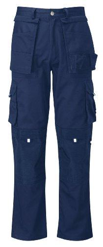 Black Knight PC300AVCTR - Pantaloni da lavoro resistenti, taglia 48, colore: Blu navy