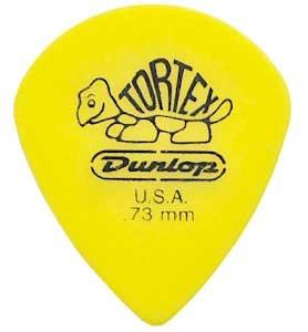 Dunlop 498 TORTEX JAZZ III XL Plektren (12-Pack) 0.73 mm - Plektren Pack