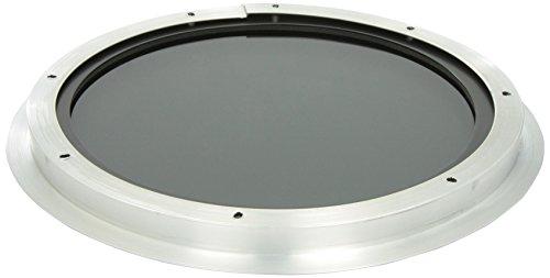 Preisvergleich Produktbild Sperrliste 30,5cm rund Bullauge Fenster getöntes Tempered Glas für 1/20,3cm oder 1–1/5,1cm Wand