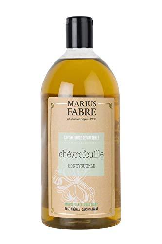 Marius Fabre 'Herbier': Flüssigseife 'Geissblatt (Chèvrefeuille)' Nachfüllflasche, 1 Liter -