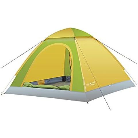 3-4 Tenda Persone di campeggio esterna antipioggia automatico (3 colori facoltativi) ( colore : B. , dimensioni : 200*200*130cm