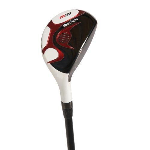 Macgregor Club de golf M59 hybride pour homme en fibre de carbone, 21° #3 Tige régulière pour droitier