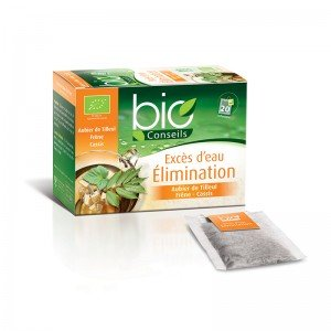 Infusion Elimination Rétention d'eau Bio Sachet-filtre
