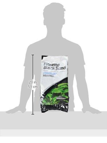 Seachem Flourite Black Sand, 7 kg / 15.4 lbs 3