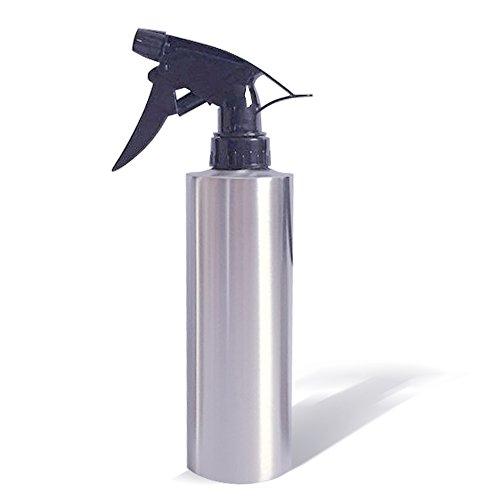 Edelstahl Gießkanne Pflanze Spray Flasche Garten-Rasen Werkzeug | 350ml Wasser Sprinkler Spritze Flasche für Hair Salon Friseur Blumen Pflanzen Haushalt und Büro (Utility-hand-pumpe)